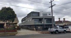 7 triple story units.